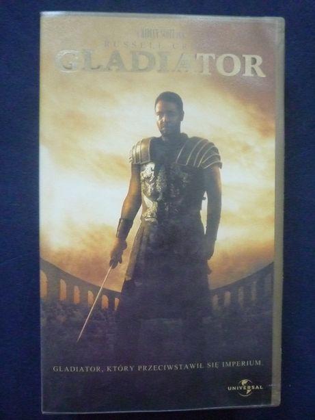 Gladiator który przeciwstawił się imperium kaseta orginalna VHS