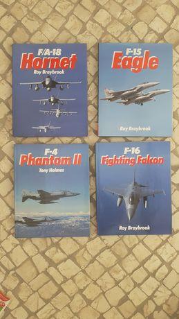4 magnificos livros aviação