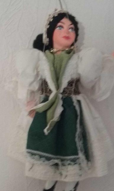 Lalka pacynka, porcelana