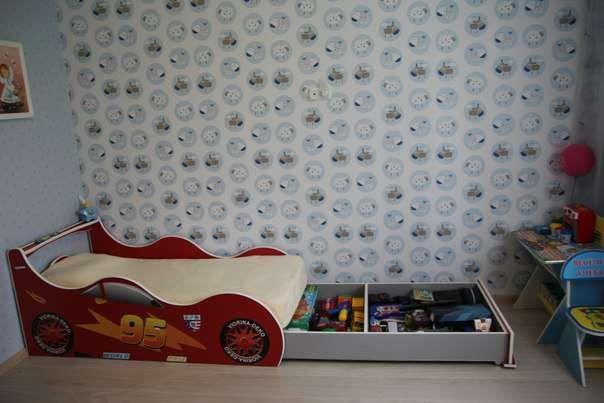Кровать машинка+ Бесплатная доставка под дом.