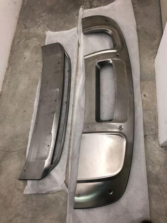 Audi Q3 / S Line all-Road protecao metalica parachoques  frente e tras