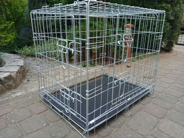 Klatka kennelowa Trixie dla psa JAK NOWA - 62x47x54 cm