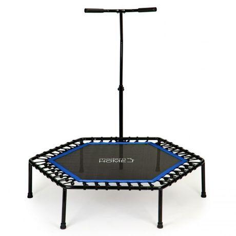 Trampolina fitness z uchwytem domowa do ćwiczeń