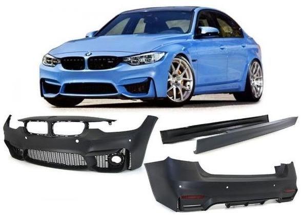 Обвес BMW F30 3series М3  тюнинг карбон Спойлер Решетка Зеркала Ноздри