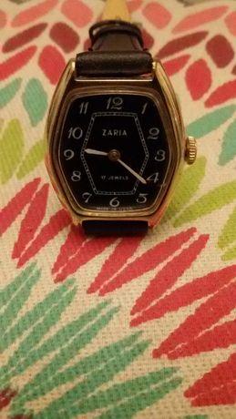 ZARIA - piękny zegarek damski , pozłacany