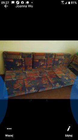 Sofa plus dwa fotele PRL