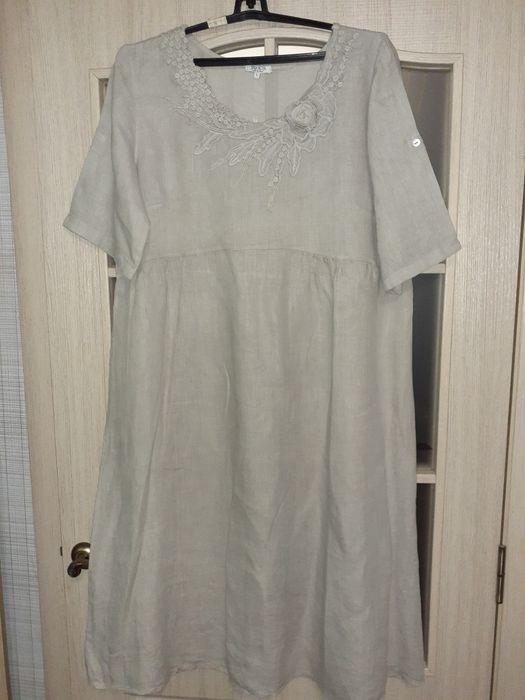 Сукня натуральний льон Белая Церковь - изображение 1