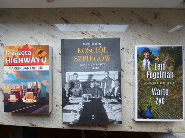9 książek za po 11 pln/szt. Idealne, czytała 1 osoba!