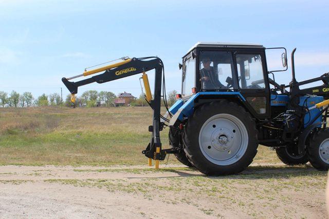 Кран манипулятор S-1500 навесной на трактор