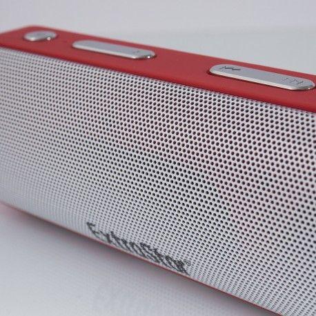 Coluna/ Alto-Falante Bluetooth V4.1+EDR - vermelha