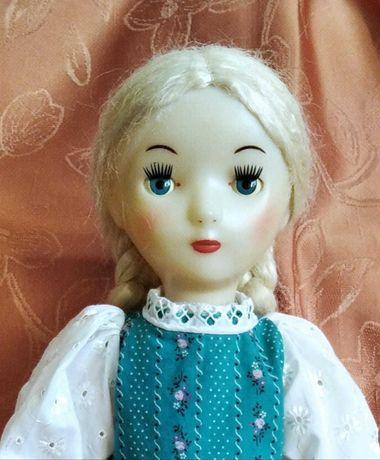 Кукла паричковая ссср