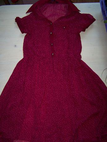 Sukienka 146cm young dimenssion lekka długi tył