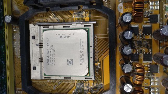 Материнская плата с процессором AMD