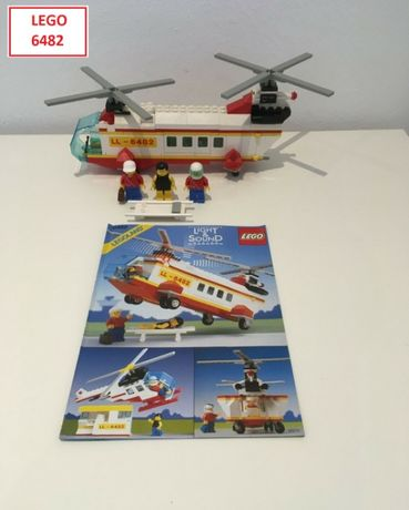 LEGO CITY Light & Sound (6 Sets): 6482; 6480; 6440; 6450; 6481; 6450