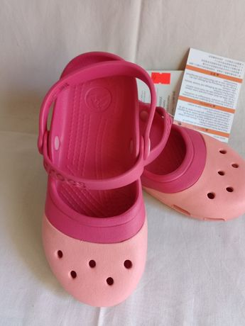 Крокс Crocs Electro II Mary Jane клоги балетки босоножки C12 р. 28-29