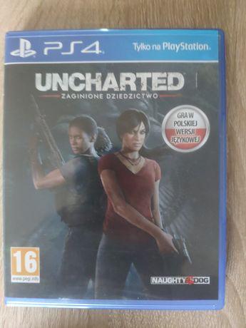 Uncharted zaginione dziedzictwo PS4 PL