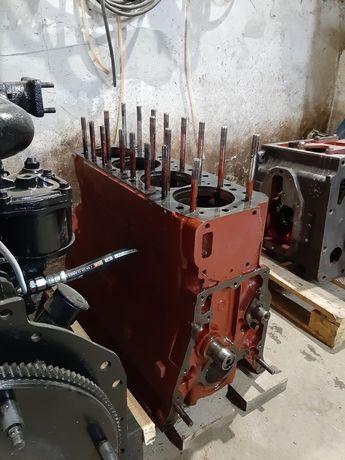 Блок двигателя коленвал шатун распредвал шестерни ЮМЗ Д65 Крышки