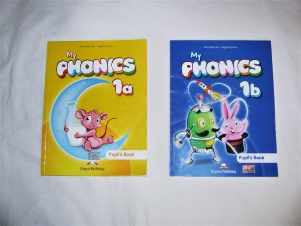 My phonics 1a 1b Express Publishing English Английский для маленьких