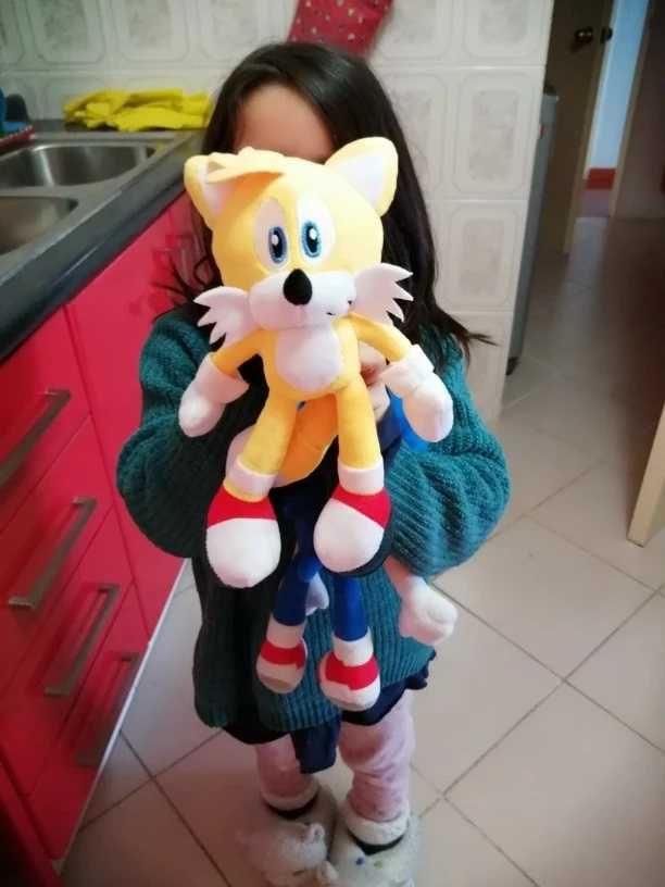 Peluche Tails de Sonic the Hedgehog 28 cm - Novo e Lacrado (imagem 2)