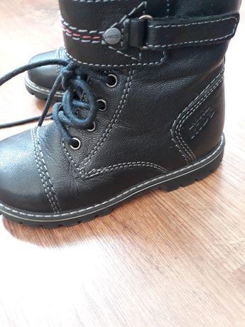 Kozaki buty zimowe dzieciece Lasocki Kids skóra 25