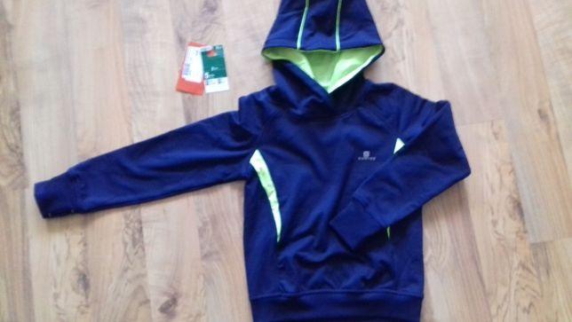 bluza termiczna sportowa z kapturem r. 105-114 NOWA