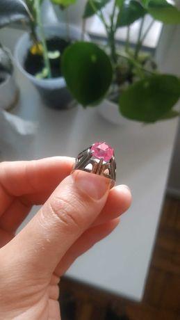 Кольцо серебряное, обручка срібна р.18
