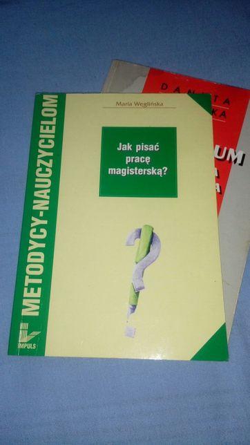 Jak pisać pracę magisterską? Maria Węglińska
