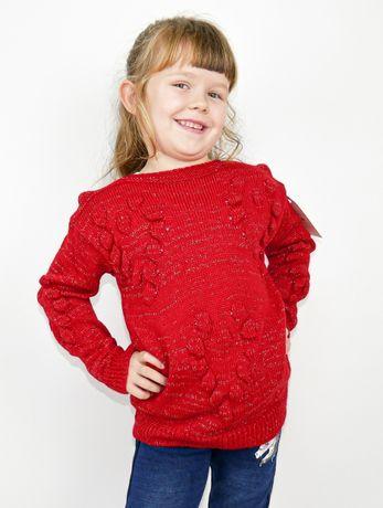 Czerwony sweterek sweet