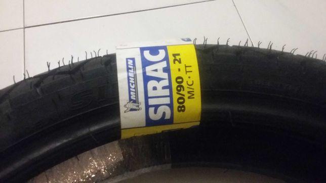 Pneu Novo para Mota Michelin SIRAC 80/90 TT