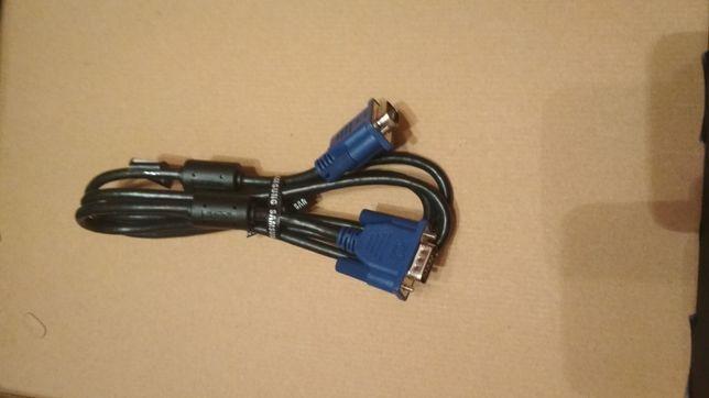 HDMI и VGA кабель, кабель питания для ноутбука или пк