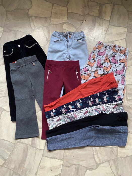 Пакет одежды, одежда на девочку 3-4, штаны, лосины Инженерный - изображение 1