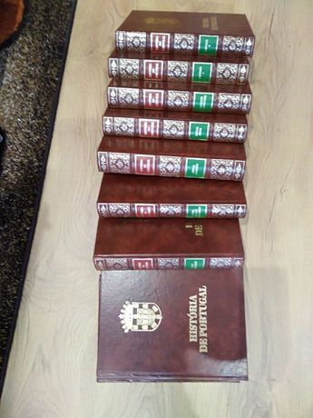 """Livros COLEÇAO """"História de Portugal"""" - coleção de 15 volumes"""