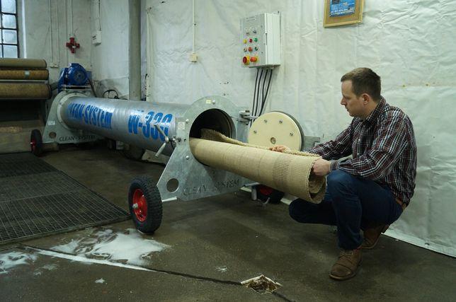 Wirówka do dywanów Clean-System W-330 OCYNKOWANA