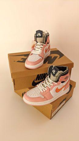 Женские Кроссовки Nike Air Jordan 1 High Zoom Pink Glaze ОРИГИНАЛ США