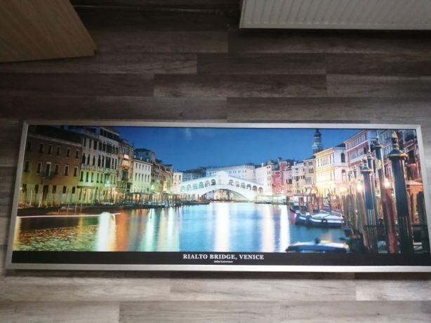 Obraz-Most Rialto,Wenecja-55x153cm