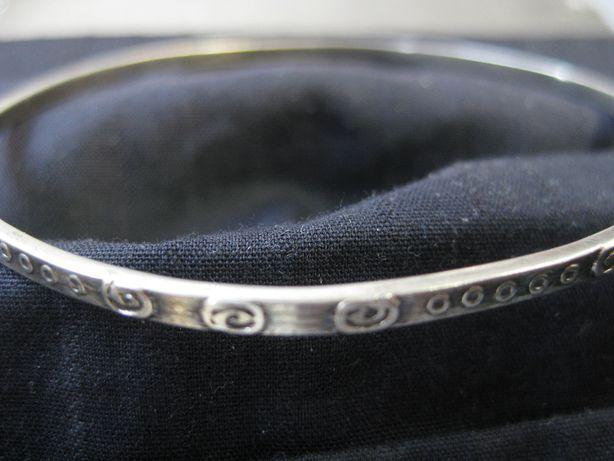 Stara srebrna bansoleta bransoletka