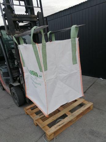 Big Bag o wymiarze 90/90/100 cm płaskie dno / otwarta góra HURT