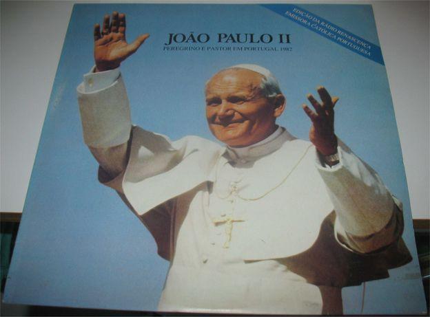 João Paulo II - Peregrino e Pastor em Portugal 1982 - LP