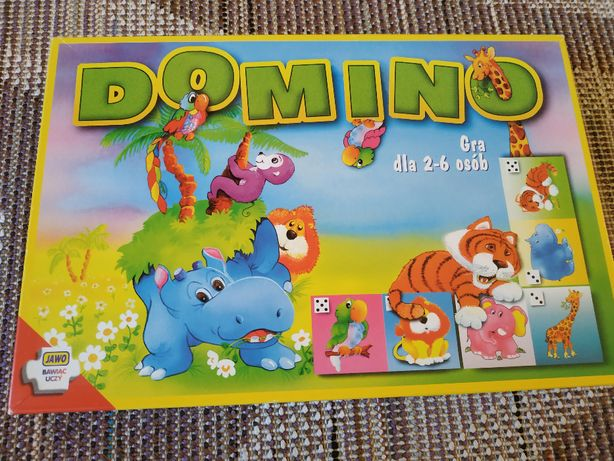 Gra domino ze zwierzętami