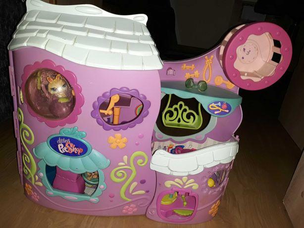 LPS littlest pet shop oryginalny domek i figurki, akcesoria i mebelki