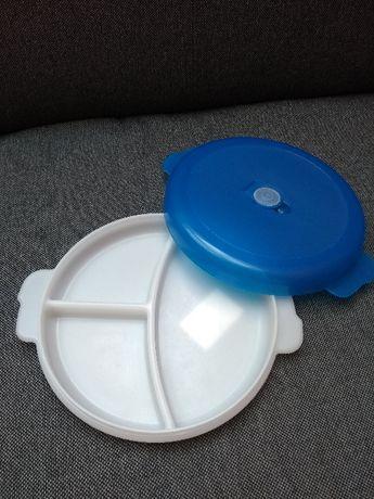 Pojemnik z przykrywką mikrofala Plast Team śr.23 cm WYSYŁKA