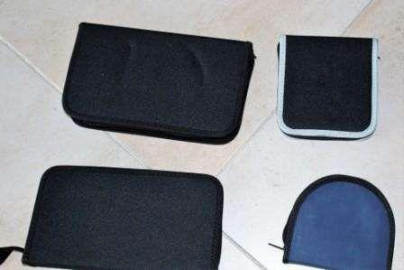 Bolsas e caixas para CD e DVD