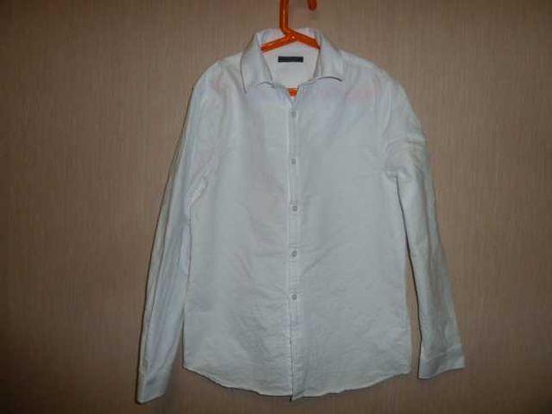 next Белая рубашка Некст на 14 лет рост 164 см , 100% коттон