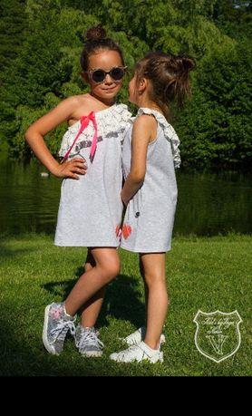 Nowa sukienka kids by voga 122/128