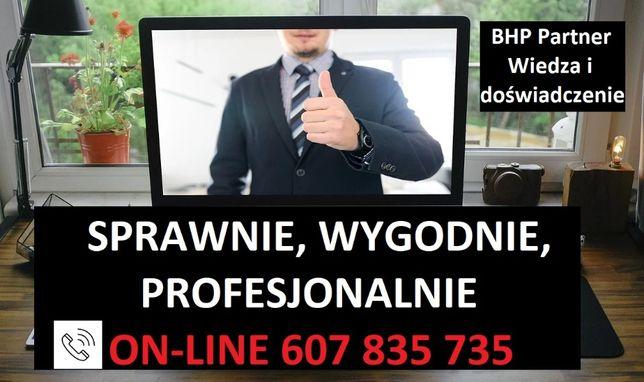 Szkolenia BHP online - prosto i sprawnie -zadzwoń/napisz 24h, promocje