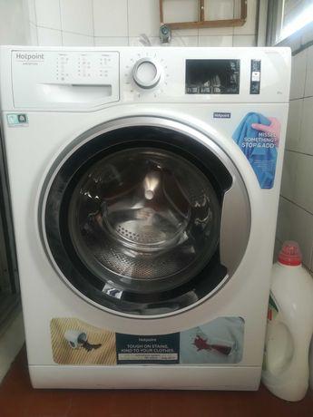 Máquina de lavar roupa 8kg A+++ Hotpoint com GARANTIA da marca