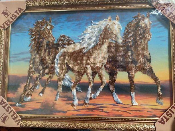 """Картина  """"Коні"""". Окраса для вашого дому!"""
