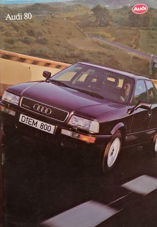 Prospekt Audi 80 B4.