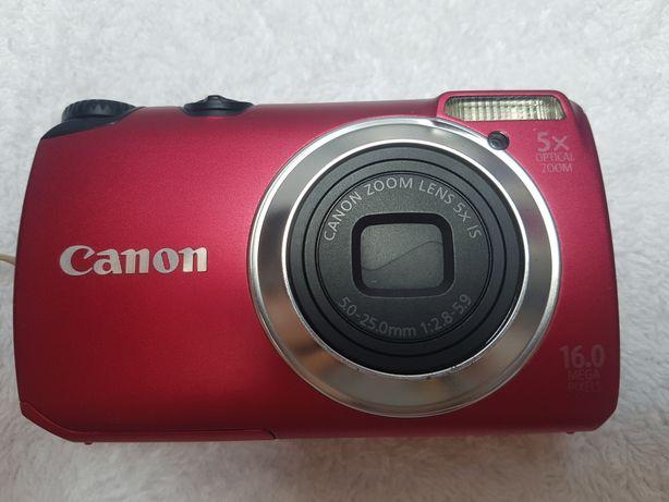 Aparat Cyfrowy Canon PowerShot A3300 IS Czerwony