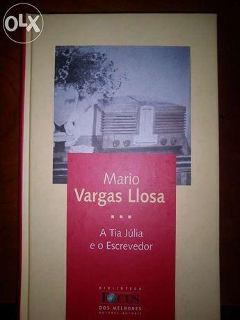 """Livro """"A Tia Júlia e o Escrevedor"""" Mario Vargas Llosa"""